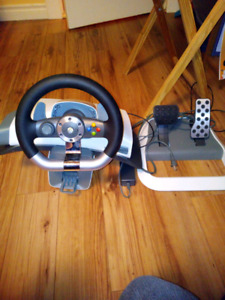 Xbox 360 Wireless Driving Set