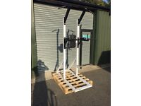 VKR power tower dips pull ups vertical knee raise commercial gym equipment