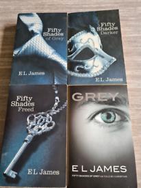 EL James 50 shades of grey saga
