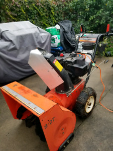 Two stage gas  snowblower
