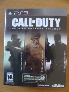 New PS3 Call of Duty Modern Warfare Trilogy