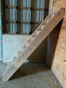 Wood Framed Stairs