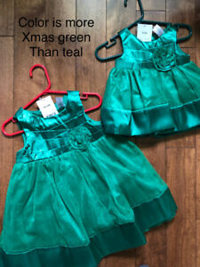 Baby dresses 0-18 months
