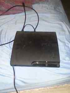 Ps3 and 5games 500g  its the ps3 slim one controller