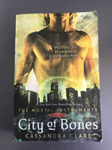 Mortal Instruments series first 3 books