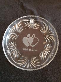 Royal Doulton crystal glass fruit bowl