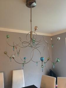 Chandelier, ceiling light, lumiere de plafond