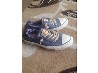 Limited edition converse size 4
