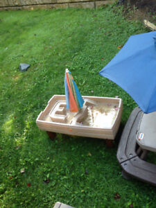 Little Tikes Step 2 Water and Sand Activity Center Table
