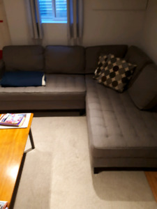 Sectional- like new condition a year old!