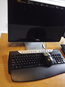 "20"" LED  hp monitor wide 16:9"