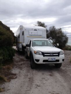Poni 5th wheeler with Ford Ranger Ute  - new photos added Trevallyn West Tamar Preview