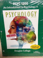 PSYC 1200 An Introduction to Psychology II