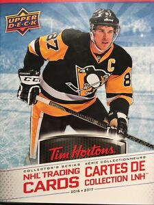 Looking to trade Tim Horton's hockey cards