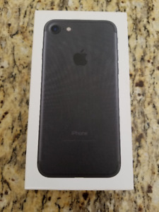 iPhone 7 128GB Black BOX ONLY