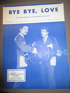 SIX  GUITAR SHEET MUSIC BOOKS FROM THE 40's and 50'S