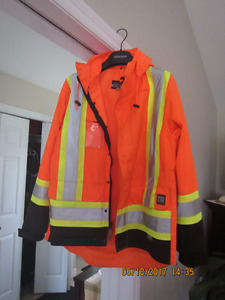 Work King 5 in 1 Safety Jacket