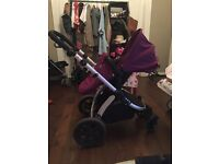 Baby buggy car seat