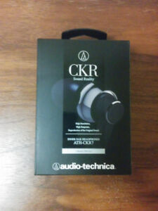 [BRAND NEW] Audio-Technica ATH-CKR7 Earphones