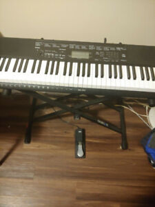 Casio CTK-3500 keyboard and accessories