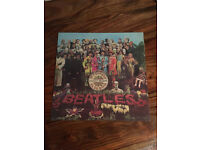 The Beatles Sgt Peppers Lonely Hearts Club Band LP PCS 7027 Stereo Pressing excellent condition