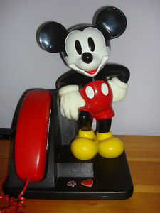 Telephone Mickey Mouse Fonctionnel