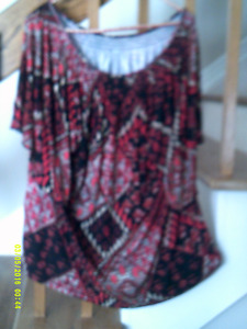 Beautiful tops of different style for size plus