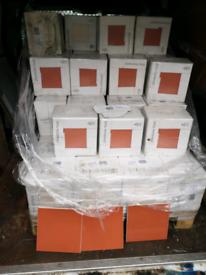 20x20cm jhonston wall tile redwood 17 in each box