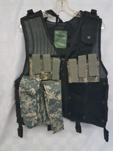 Paintball nerf  airsoft Tactical modular vest