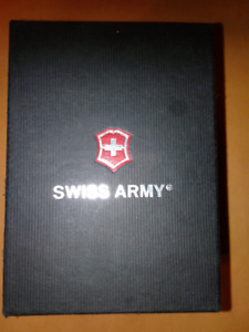 New Never Worn Swiss Army Officers Watch Model 24567