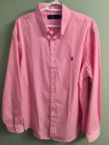 Ralph Lauren Polo Dress Shirt - XL