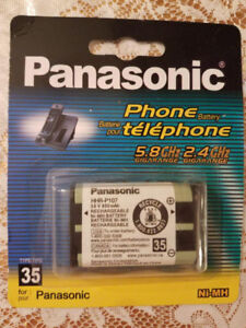 BRAND NEW SEALED PANASONIC BATTERY FOR CORDLESS PHONE