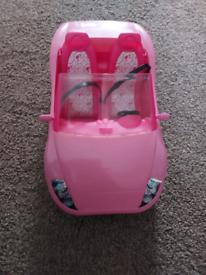 Barbie sports car
