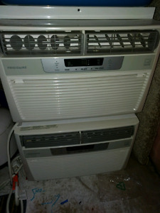Window style air conditioners