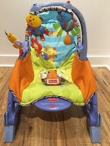 Fisher Price Newborn To Toddler Portable Rocker (Blue) Used West Island Greater Montréal image 6