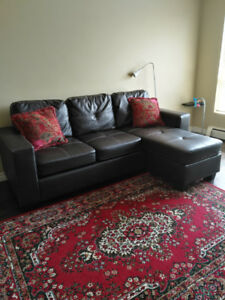 Selling Brown Sectional or Chaise