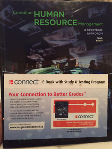 Canadian Human Resource Management, Ninth Edition w/ Connect