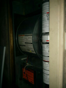 Oil tank,Furnace and a/c unit