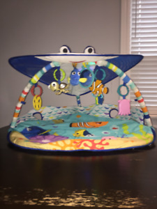 Disney Baby Mr. Ray Ocean Lights Activity Gym for baby