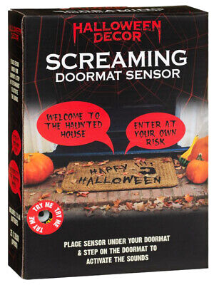 Halloween Screaming Doormat Sensor Decorate your home at Halloween