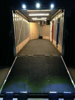 Upgrade Your Enclosed Trailer - Power and Lighting System