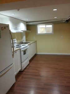 2 bedroom bright basement apartment close to LU avail. on Jun.1
