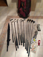 Full Set of Various Brand Golf Clubs in Good Condition  $Reduced