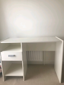 White Desk, good condition, clear out