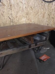 Antique cart coffee table London Ontario image 3