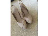 Nude shoes from NEXT (NEW)