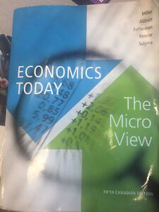 Economics Today The Micro View 5th Edition