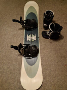 Snowboard - Everything you need!