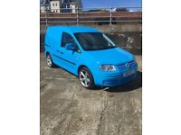 VW caddy 2010 - c20 plus SDi - 43,000 miles