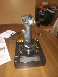 Saitek X-55 joystick! No throttle.